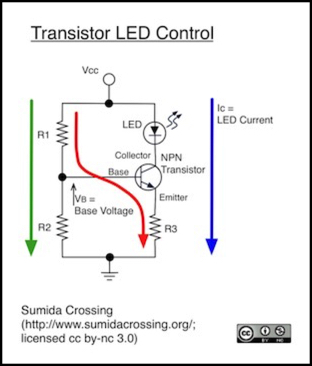 Simple LED Intensity Control
