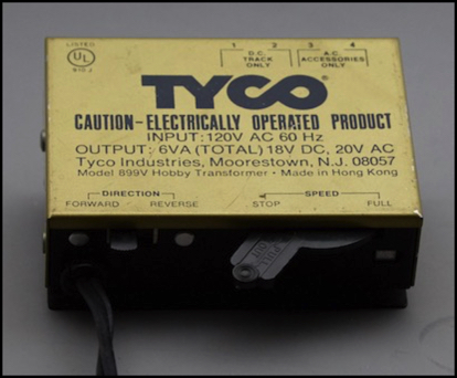 power pack design and testing rh sumidacrossing org Tyco Toy Trains Sesame Street Tyco Train
