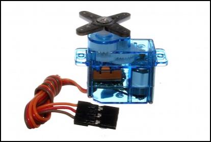 Small servo motor
