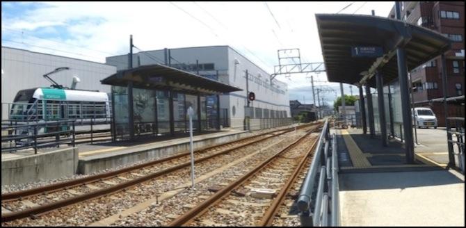 Toyama_Light_Rail_J?gawara_Station_Panorama. Toyama Light Rail ... & Light Rail azcodes.com